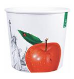 papierowy, jednorazowy kubek do lodów - M70